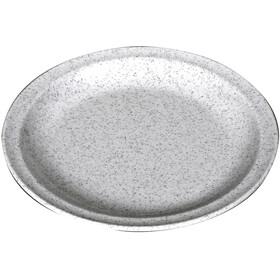 Waca Plate Melamine Flat 23,5cm, granit